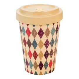 Woodway Retro Diamonds kávés pohár 400 ml