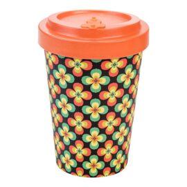 Woodway Retro Flowers kávés pohár 400 ml