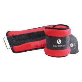 Sveltus®  tépőzáras súly 2 x 1,5 kg, piros