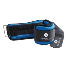 Sveltus® tépőzáras súly 2 x 0,5 kg, kék
