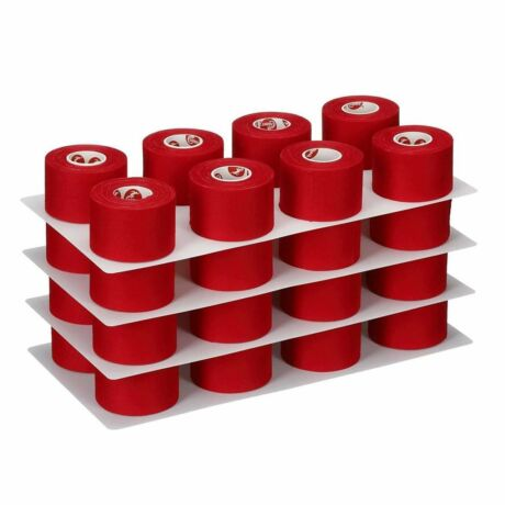Cramer® Team Colors Athletic trainer's tape -  3,8 cm x 9,14 m piros, atlétikai sport tape - 32 db / 1 doboz