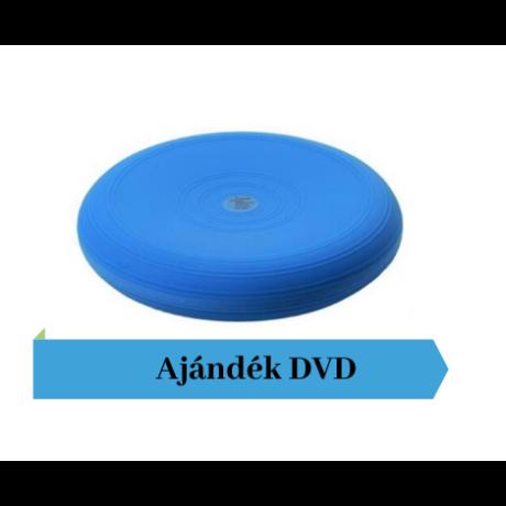 Togu® Dynair átm. 36 cm dinamikus ülőpárna , kék + Ajándék DVD