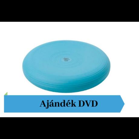 Togu® Dynair átm. 36 cm dinamikus ülőpárna , türkiz + Ajándék DVD