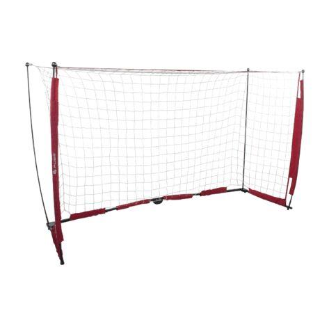 Pure2Improve összehajtható és hordozható foci kapu 244 cm x 152 cm