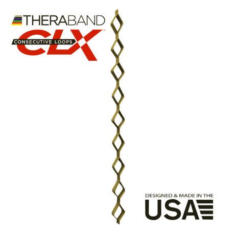 TheraBand CLX-Consecutive Loops 22 méteres legerősebb, arany