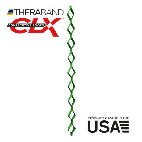 TheraBand CLX-Consecutive Loops 22 méteres erős, zöld