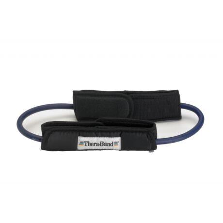 TheraBand™ Gumikötél hurok lábrögzítővel, extra erős, kék