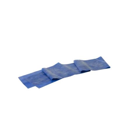 TheraBand™ Erősítő gumiszalag 150 cm, extra erős, kék, ajándék gyakorlat füzettel