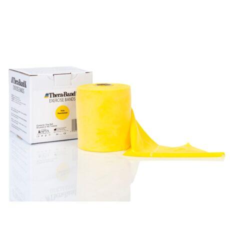 TheraBand™ Erősítő gumiszalag gurigában 45,5 m, gyenge, sárga