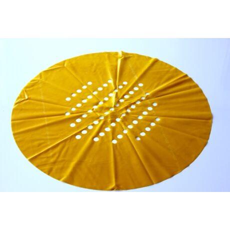 Sárga színű csere gumilap