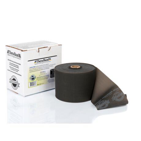TheraBand™ Latexmentes gumiszalag 22 m, szuper erős, fekete