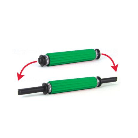 Roller Massager masszírozó, összetolható, zöld