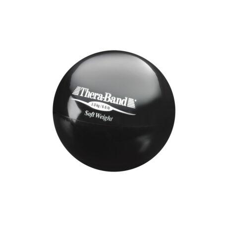 Thera-Band® súlylabda 3 kg, fekete