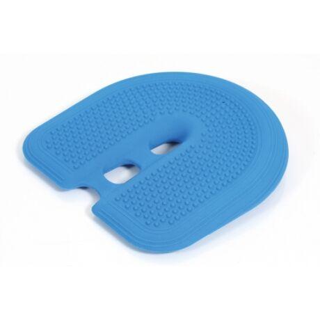 Togu® Dynair COMFORT ék alakú, tüskés felszínű (senso) ülőpárna, kék + ajándék tűszelepes pumpa